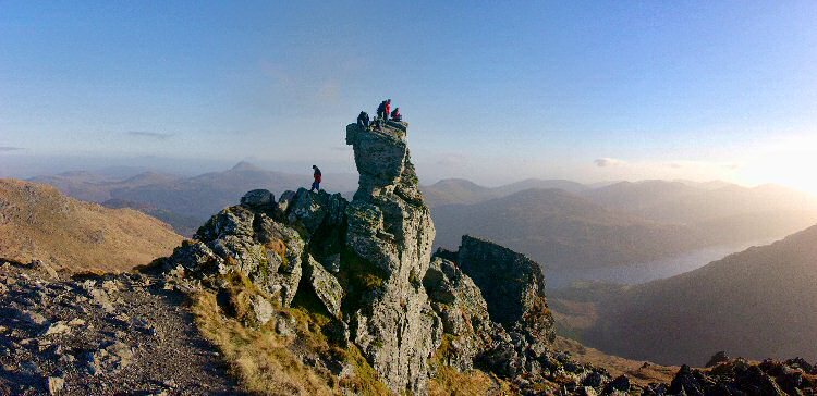 Picture of the summit of Ben Arthur