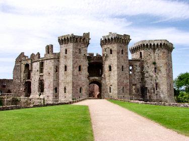 Raglan Castle Ruin